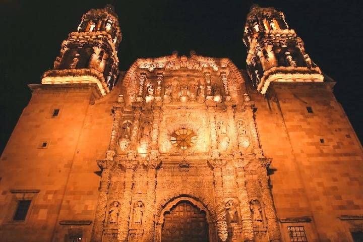Catedral de piedra rosa Foto: México Travel Channel