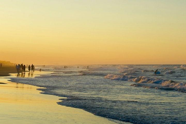 Las cálidas playas de Tecolutla, Veracruz, te esperan para poder relajarte. Foto: México Desconocido