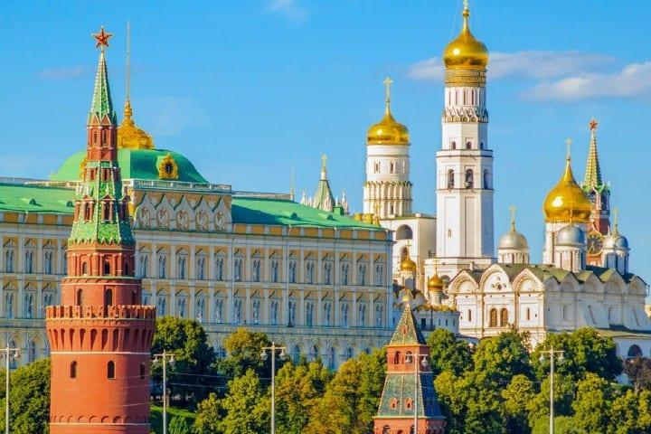 El Kremlin de Moscú Foto: Get your guide