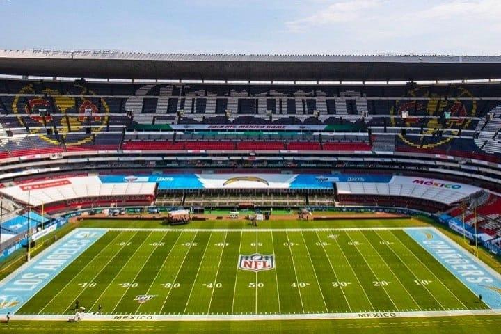 Inclusive, a la NFL le encantó tanto el Estadio Azteca que suele hacer partidos aquí. Foto: López Dóriga Digital