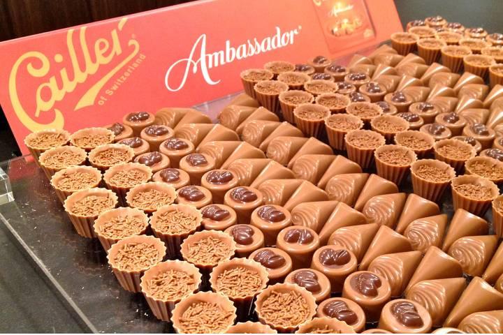 Productos de la fábrica de chocolate Foto: Café Viagem