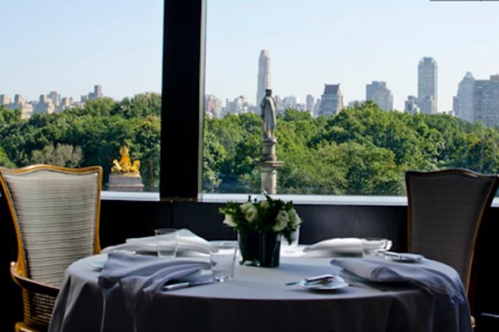 Vista a Central Park Foto: chicas en Nueva York