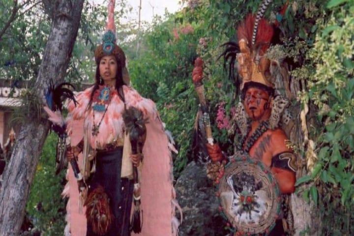 ¡Listos para la guerra Maya! Foto_ Union Cancún