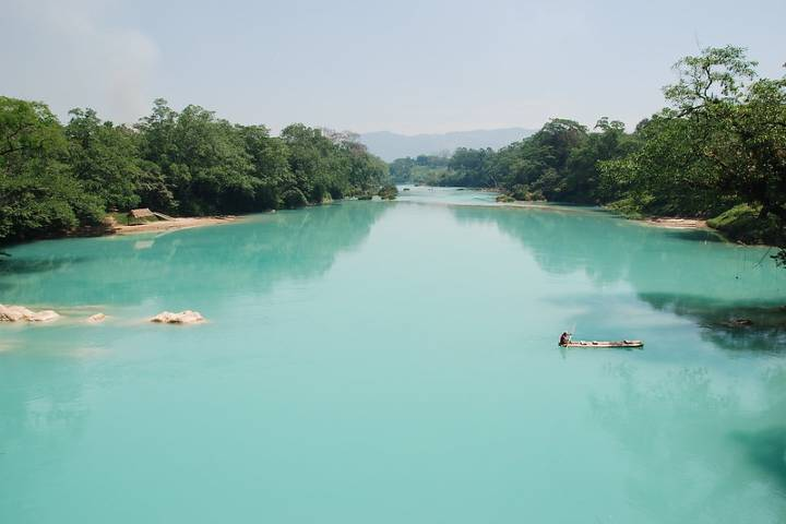 ¡Qué bonita es Agua Clara! Foto: La vida de un Sol