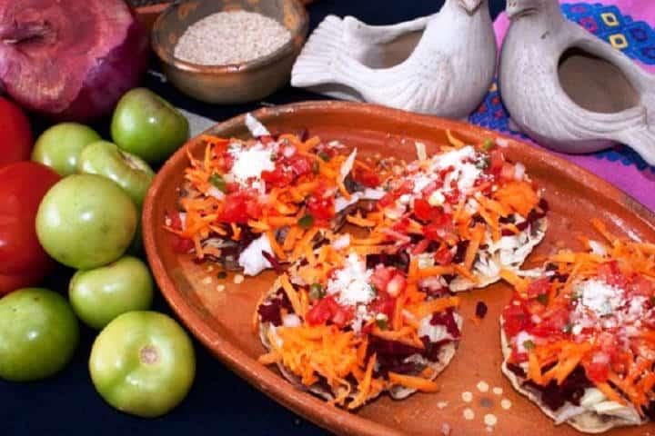 Come unas chalupas en el Parque de la Marimba, Chiapas. Foto: Archivo