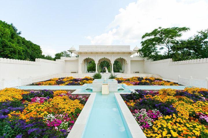 Google Foto: Jardines de Hamilton Garden en Nueva Zelanda