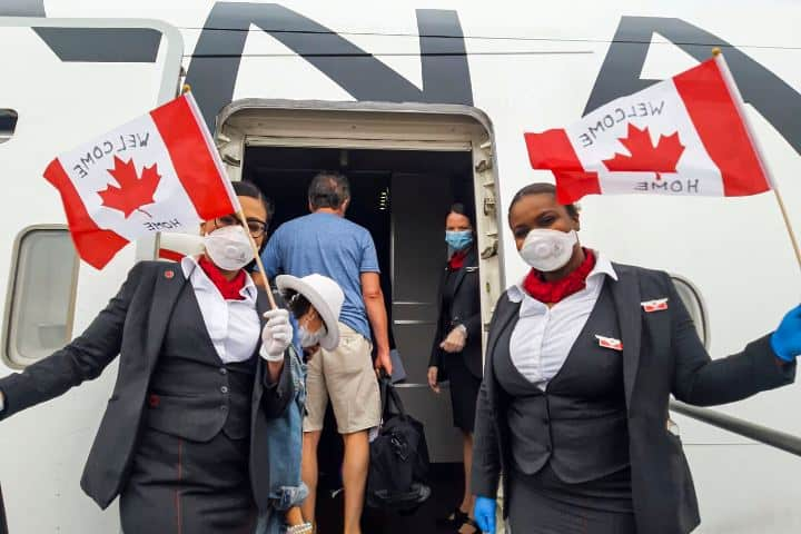 Air Canada vuelo Foto: Air Canada