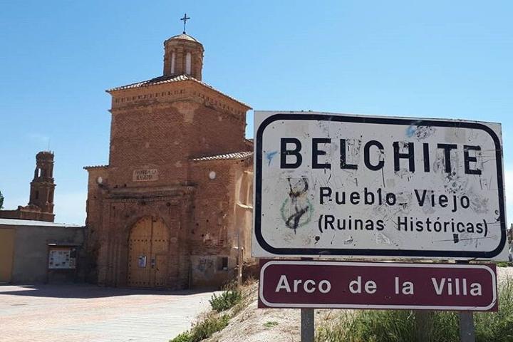 ¿Te atreverías a visitar Belchite Viejo?. Foto: elrincondesele