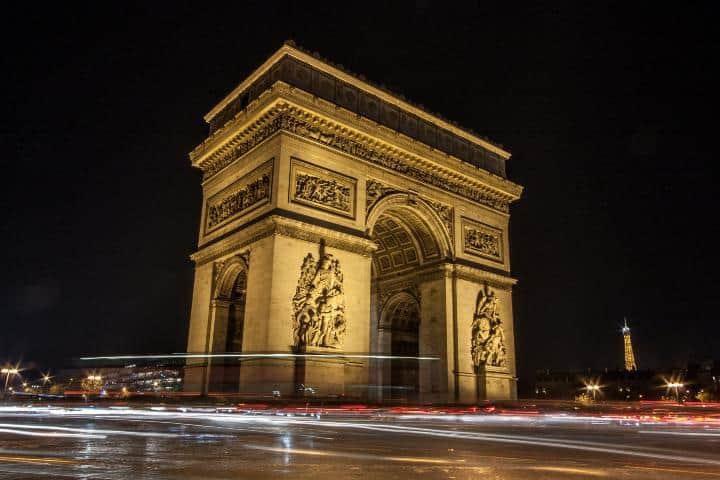 ¡No te vayas de Francia sin conocer el Arco del Triunfo! Foto: La taina de la Güerta