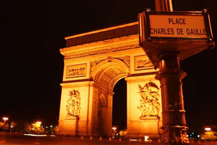 Arco del triunfo. Foto MIguel Angel Gómez