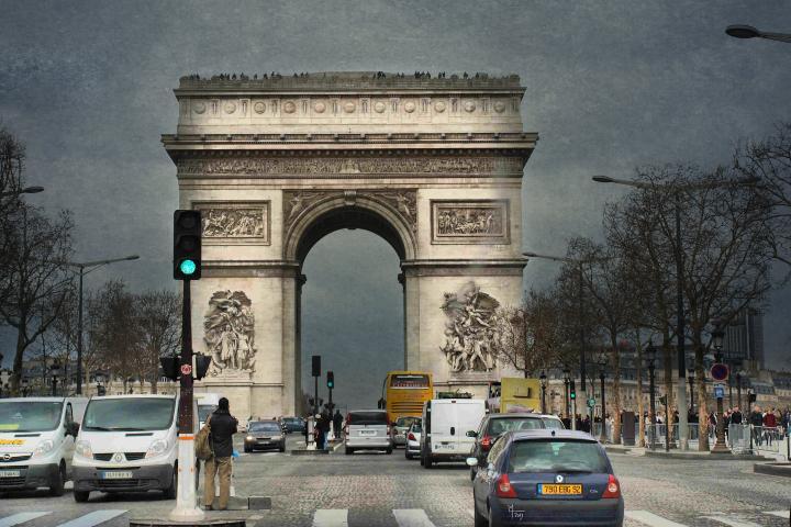 Arco del Triunfo en Francia. Foto: salva mocholi