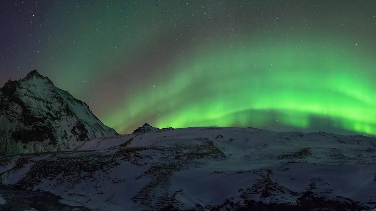 Aurora boreal. Foto Guillermo García Delgado