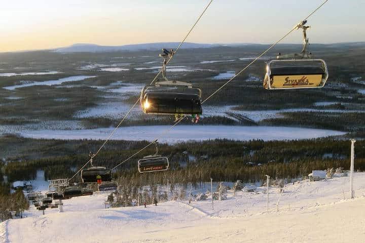 ¿Hasta dónde serás capaz de subir para el avistamiento de auroras boreales en Levi, Finlandia? Foto: Archivo