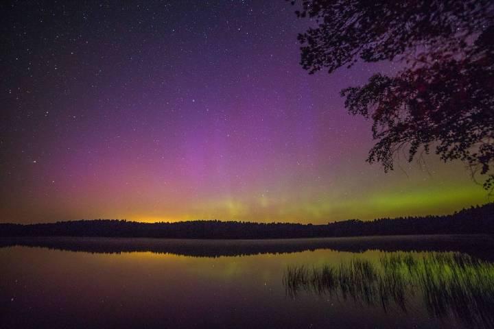 El cielo de noche en Escocia es todo un espectáculo. Foto: Ronan Dugan