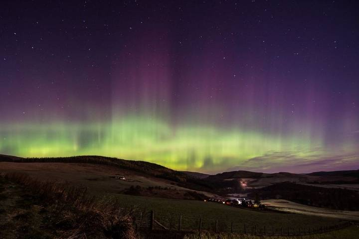 Auroras boreales. Foto: Paul McGregor
