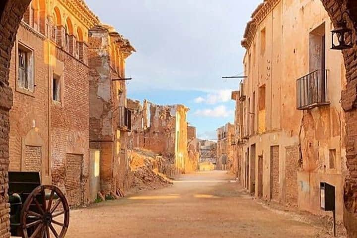 Belchite, pueblo fantasma. Foto: wild.curl
