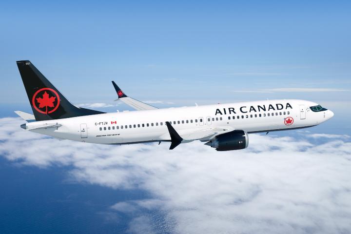 Boeing 737 MAX Foto: Air Canada