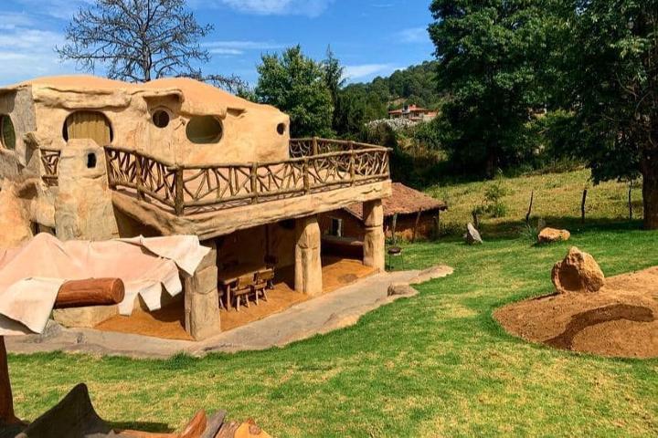Cabaña Picapiedra. Foto: cabanas_mazamitla_la_sierra