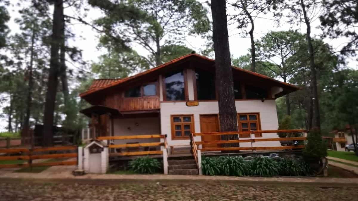 Cabaña de Mazamitla la Sierra. Foto Facebook