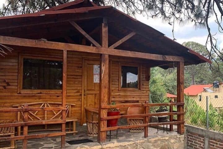 Cabañas Sierra Mazamitla. Foto: cabanas_mazamitla_la_sierra