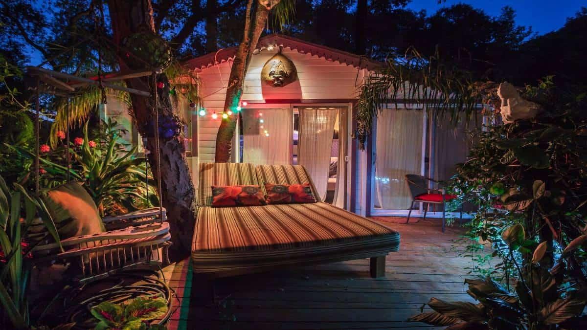 Cabaña temática Foto: Airbnb