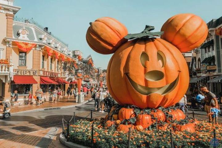 Calabaza de Mickey. Foto Pinterest.
