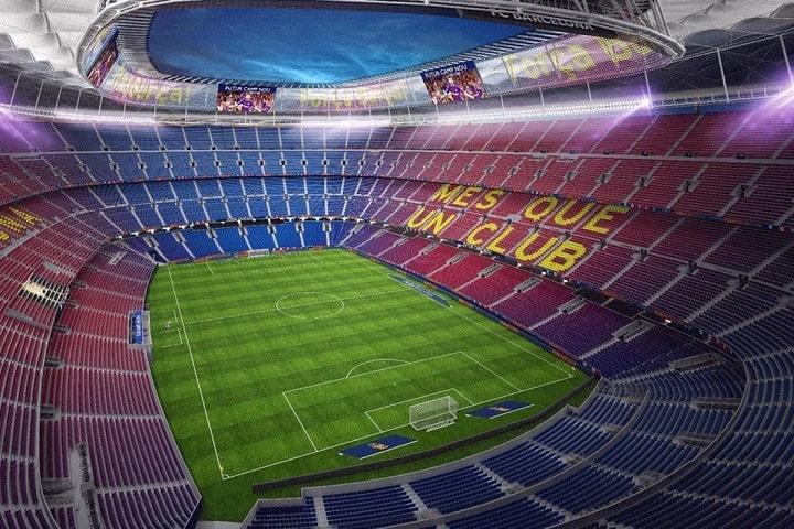 Es el quinto estadio de fútbol más grande a nivel mundial. Foto: FC Barcelona