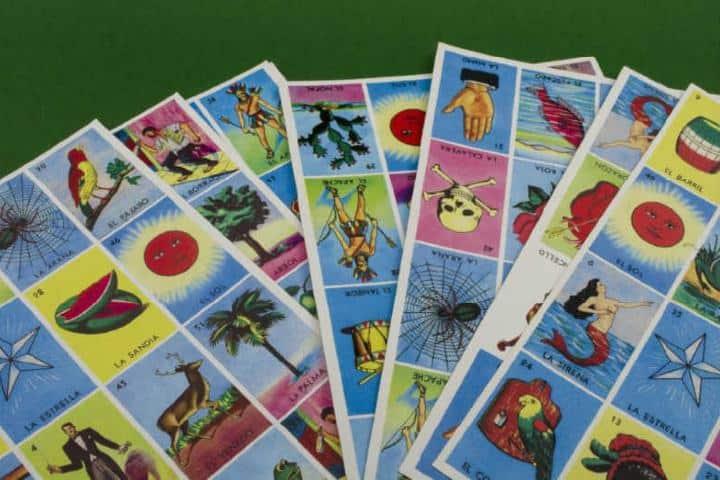 Cartas de loteria Foto: es aliexpress