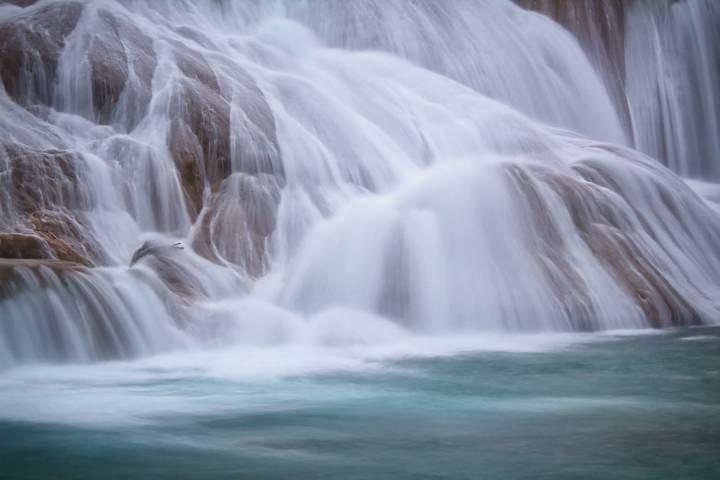 Cascada Agua Azul. Foto: Sergio Pérez