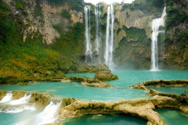 Cascada del Salto Foto: HuaXteca
