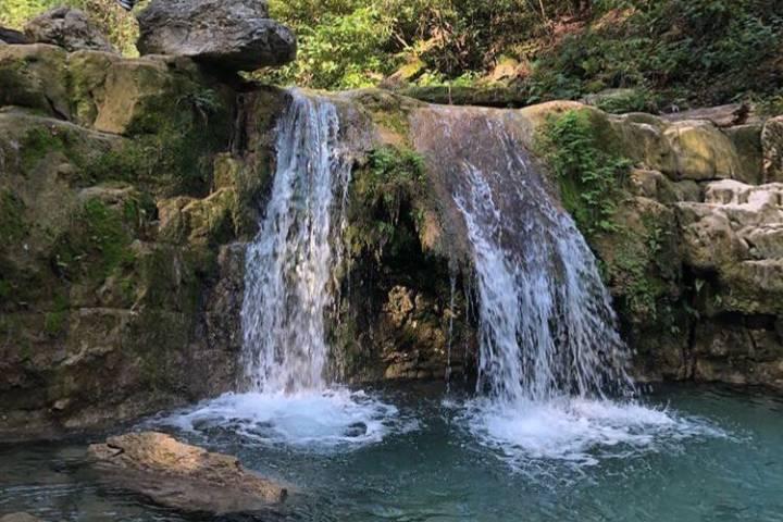 Cascada en el Parque Natural la Estanzuela. Foto: Archivo