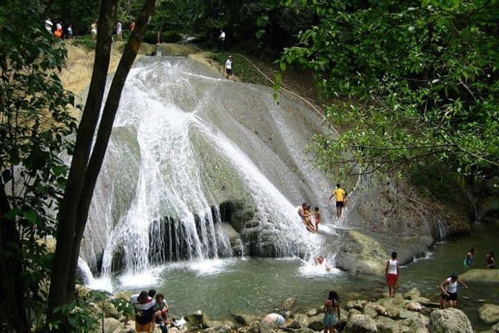 Cascadas Agua Blanca Foto: La denuncia