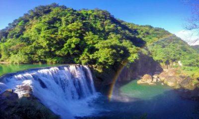 Cascadas Shifen en Taiwán China Foto Reddit