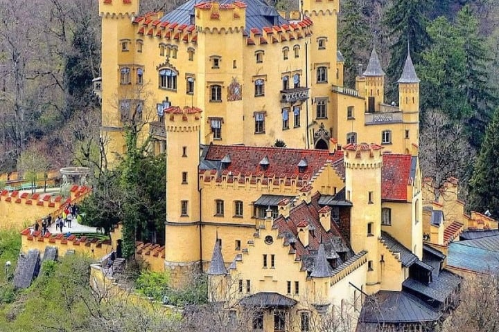 Castillo Hohenschwangau Foto: Pinterest