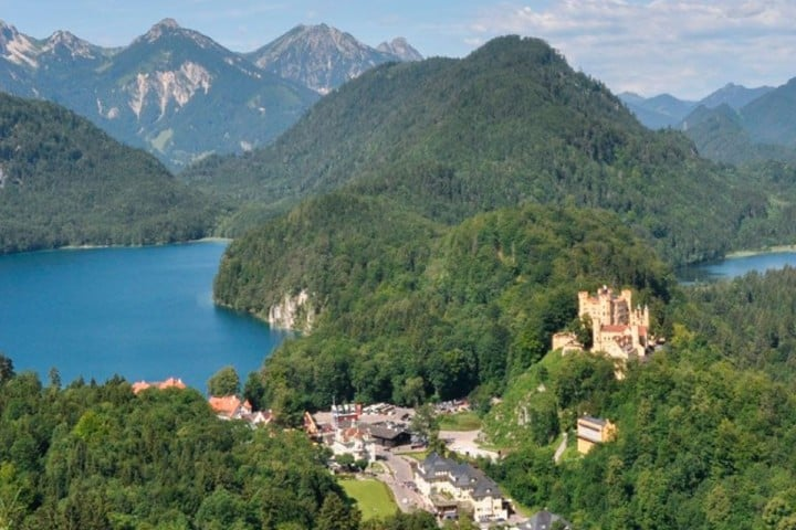 El paisaje del Castillos de Füssen Foto: Los apuntes del viajero