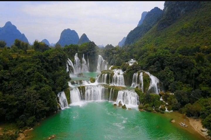 Cataratas Ban Gioc Detian Foto: Mochileros de Tailandia
