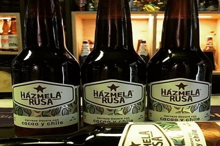 Vaya nombre tan extravagante para una cerveza artesanal, ¿No? Foto: Chingonería