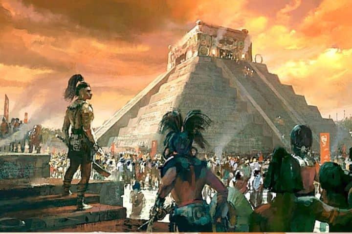Ciudad antigua Maya de Chichen Itzá Foto: Pinterest