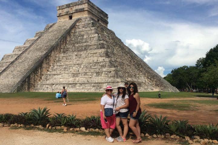 Chichen Itza en familia Foto: Rossana Martinez