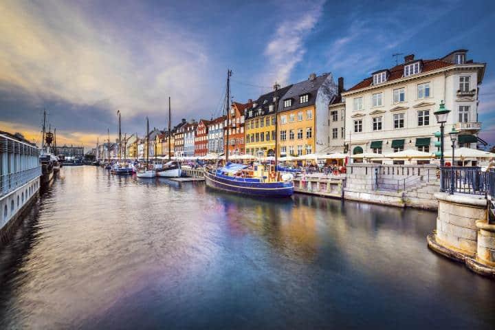 Ciudad de Copenhague Foto: Skyscanner