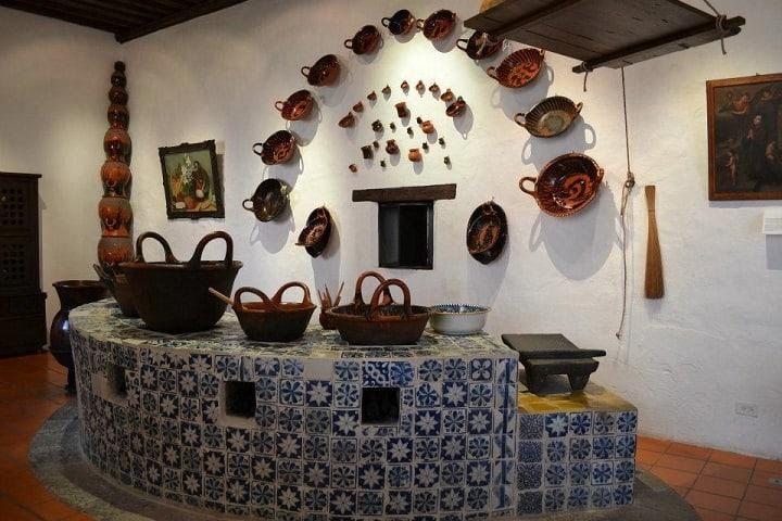 ¿Qué te parecen las cocinas del Convento de Santa Mónica? Foto: Puebla Online