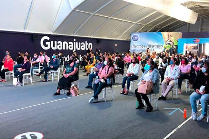 Convenciones en el Parque Guanajuato Bicentenario. Foto: Facebook