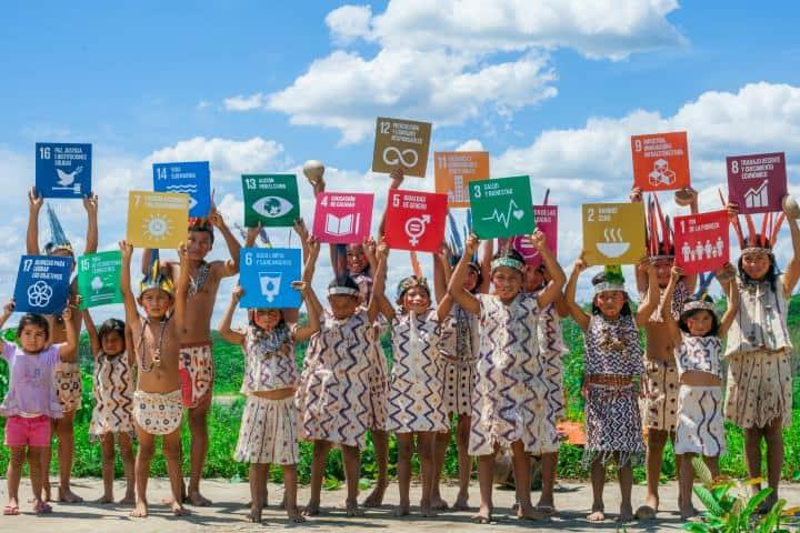 Criterios de Desarrollo Sostenible Niños Foto: Monica Suarez Galindo