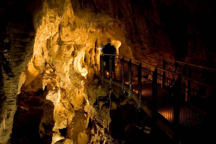 Cueva Ruakuri. Foto: michaelgreenhill