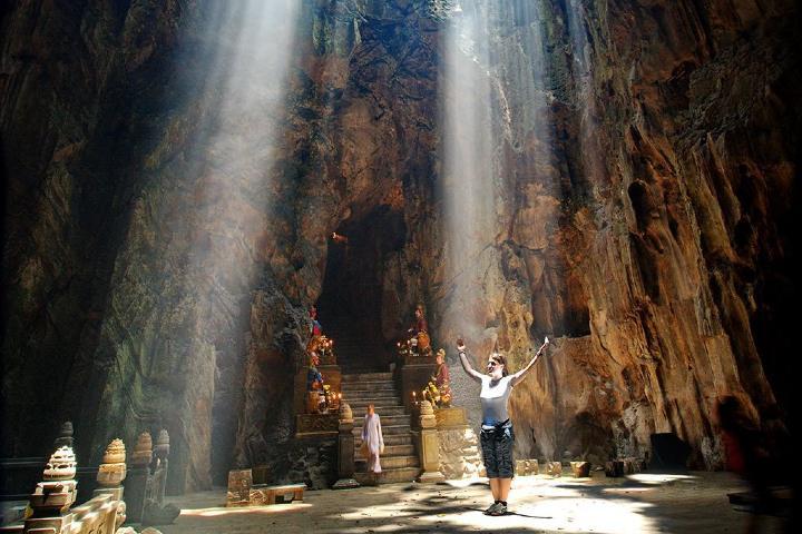 Cueva con luz Foto: justgola