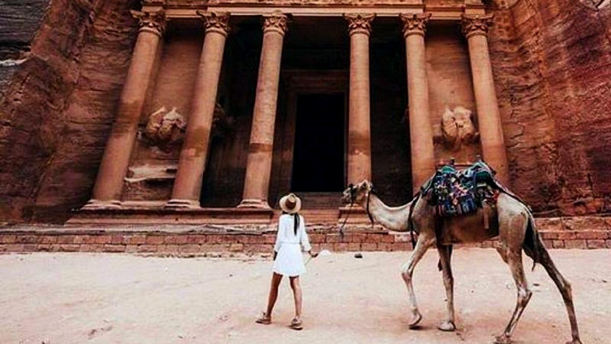 Curiosidades de Petra Jordania.Foto: Intriper