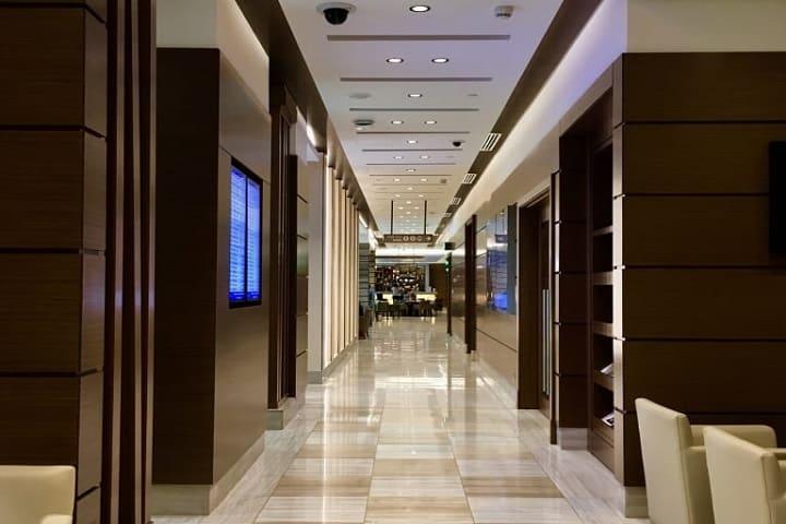 En el Aeropuerto Internacional de Dubái, los clientes de Be Relax también pueden hacer uso de las duchas y el spa cerca de la Puerta A1, Terminal 3. Foto: LoungBuddy