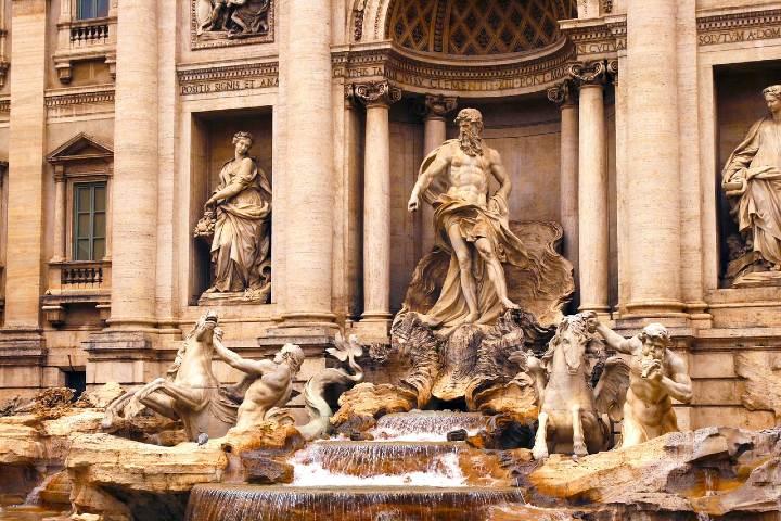 Datos curiosos de la Fontana Di Trevi Italia. Foto Marta Carrassi.