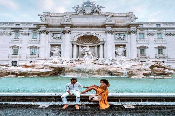 Encuentra al amor de tu vida en la Fontana Di Trevi. Foto Pinterest.