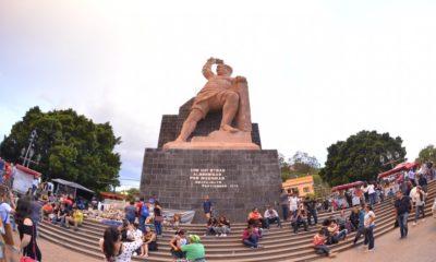 Datos monumento a El Pipila. Foto: Cutberto Lpz